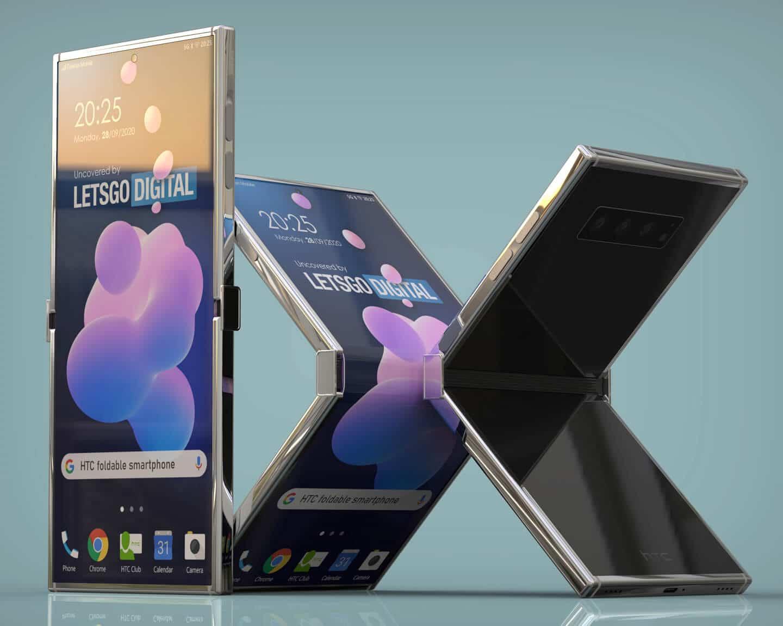 , Téléphone pliable : HTC s'y met aussi!