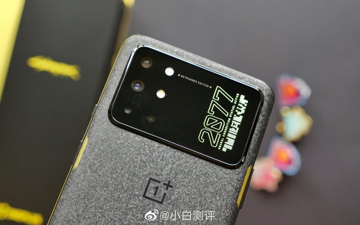 , OnePlus 8 T : l'édition Cyberpunk 2077 est officielle, découvrez son design