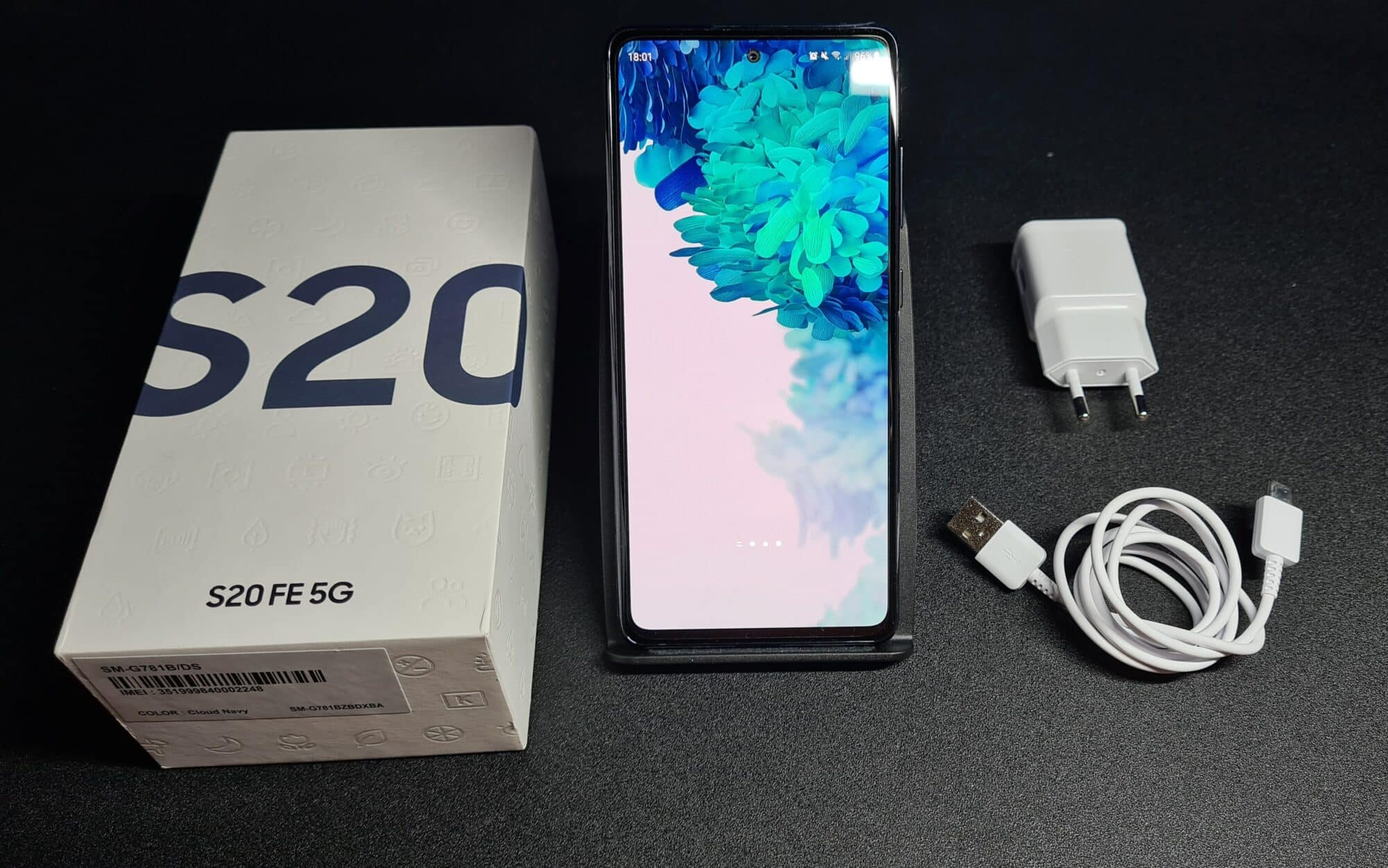 Unboxing S20 FE 5G test samsung smartphone