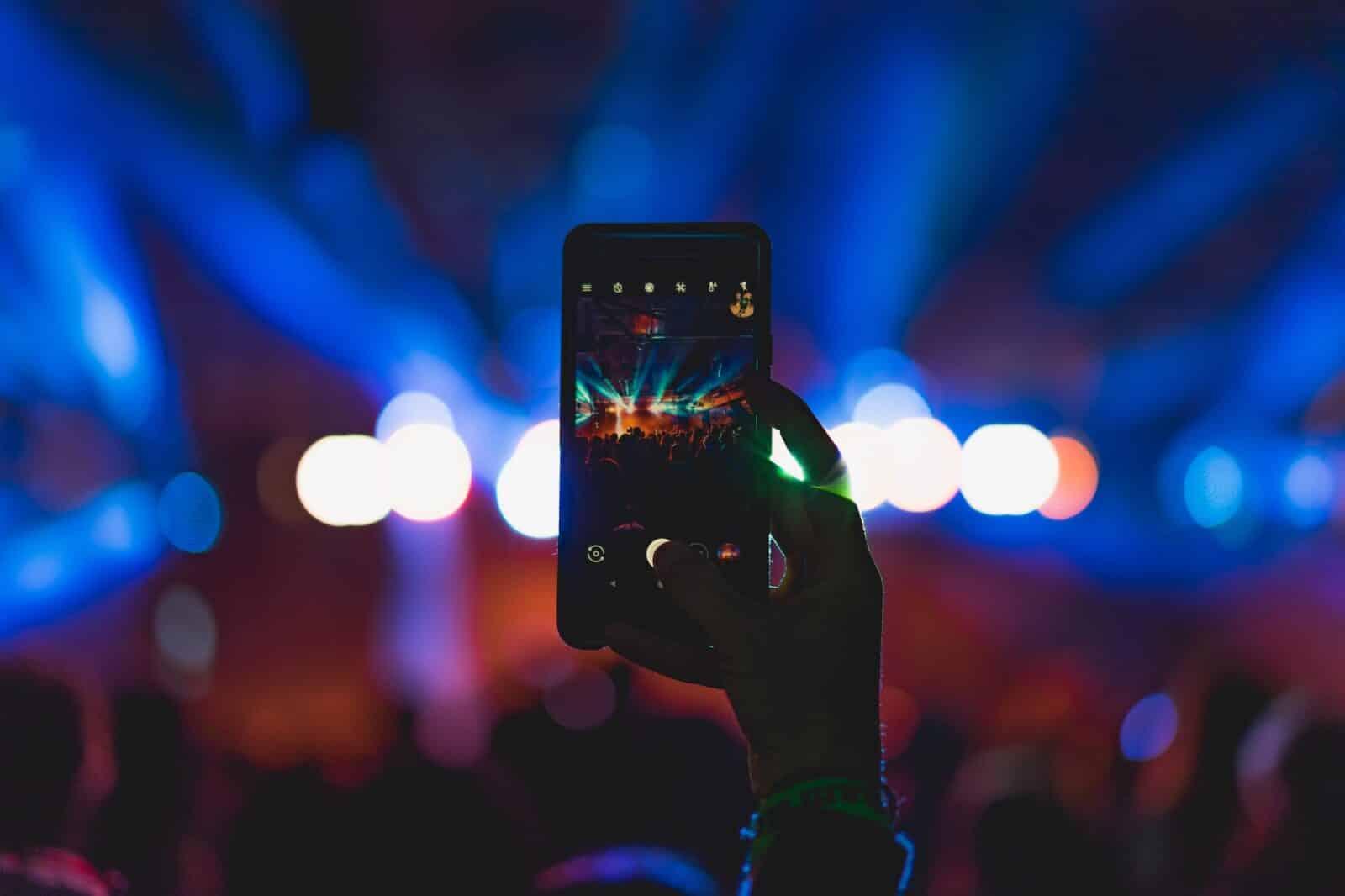 Divertissement en ligne app smartphone