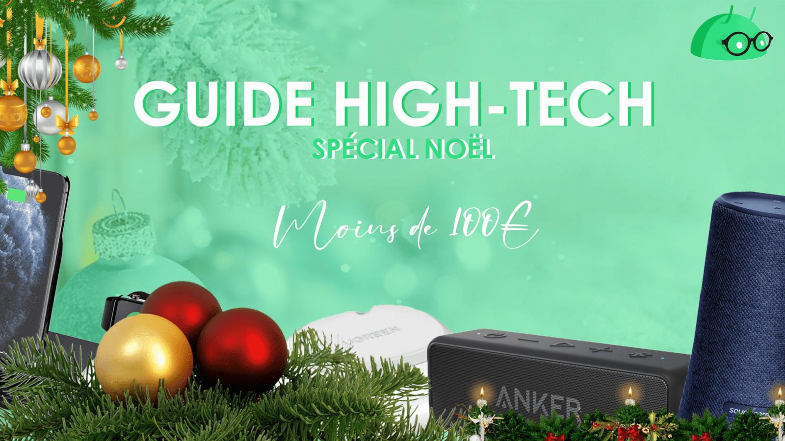 Noël 2020, GUIDE – 10 IDÉES CADEAUX HIGH-TECH à moins de 100€ pour Noël 2020