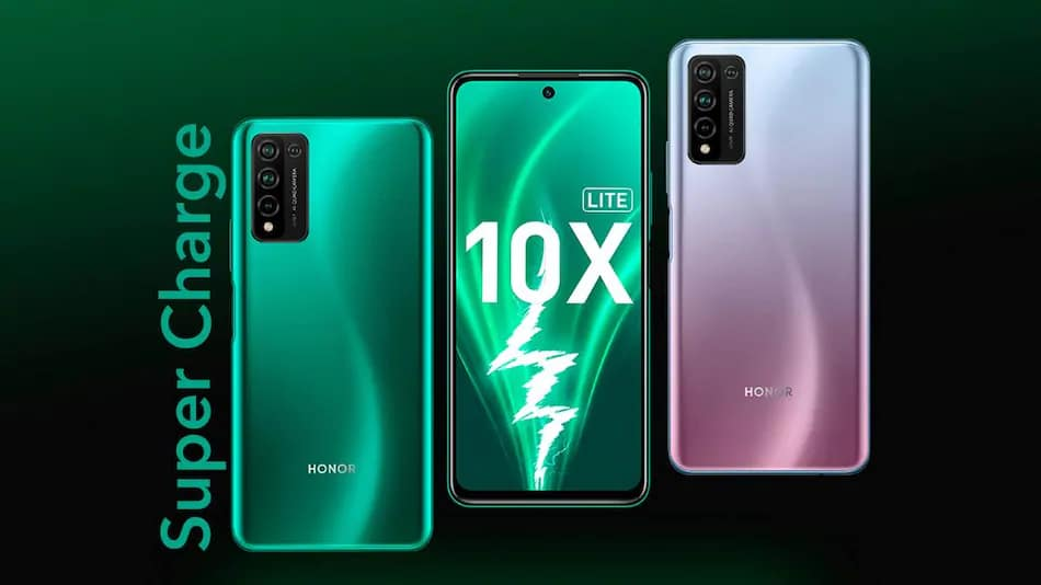 Honor 10X Lite batterie charge rapide