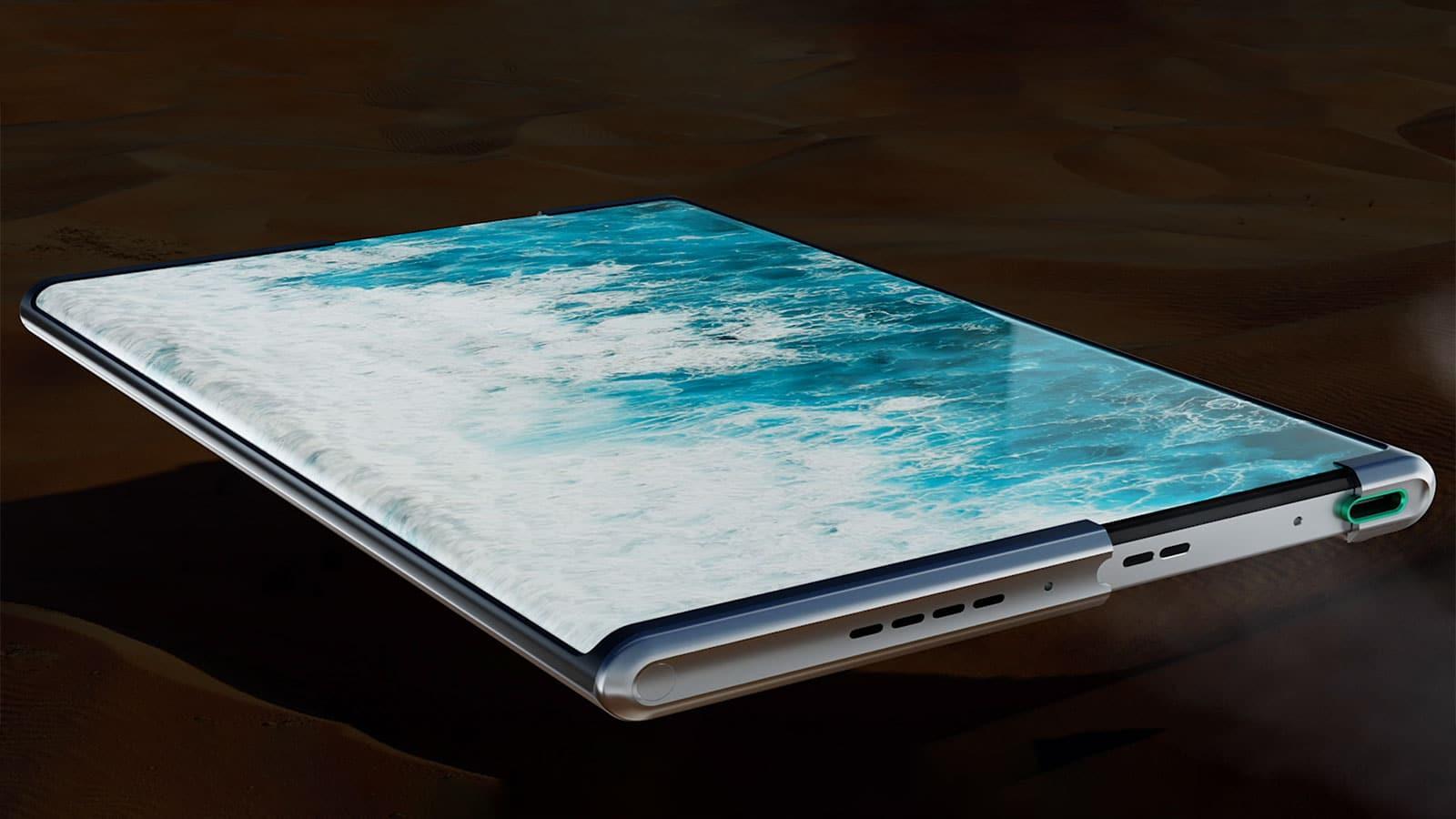 Oppo X 2020 smartphone enroulable