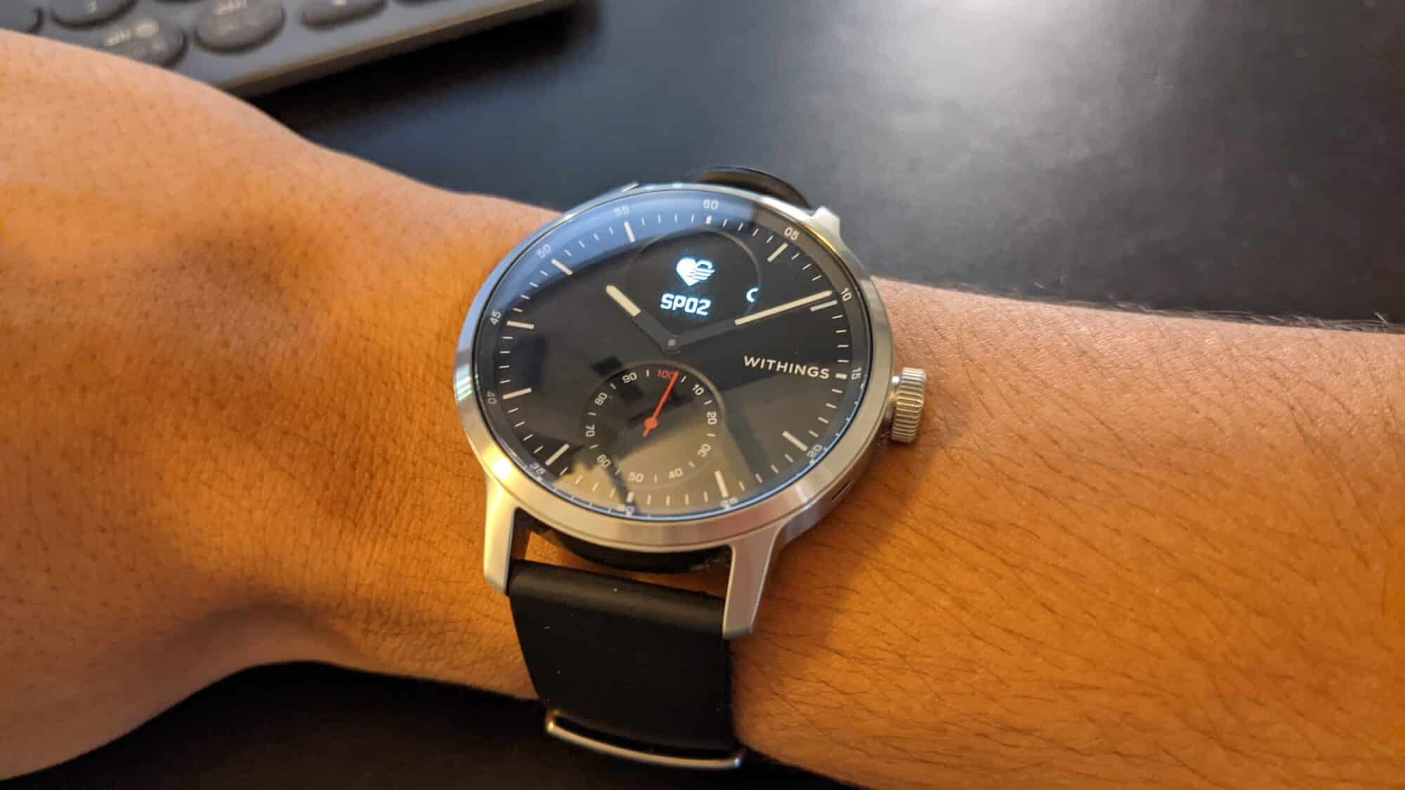 Spo2, Montre, Withings