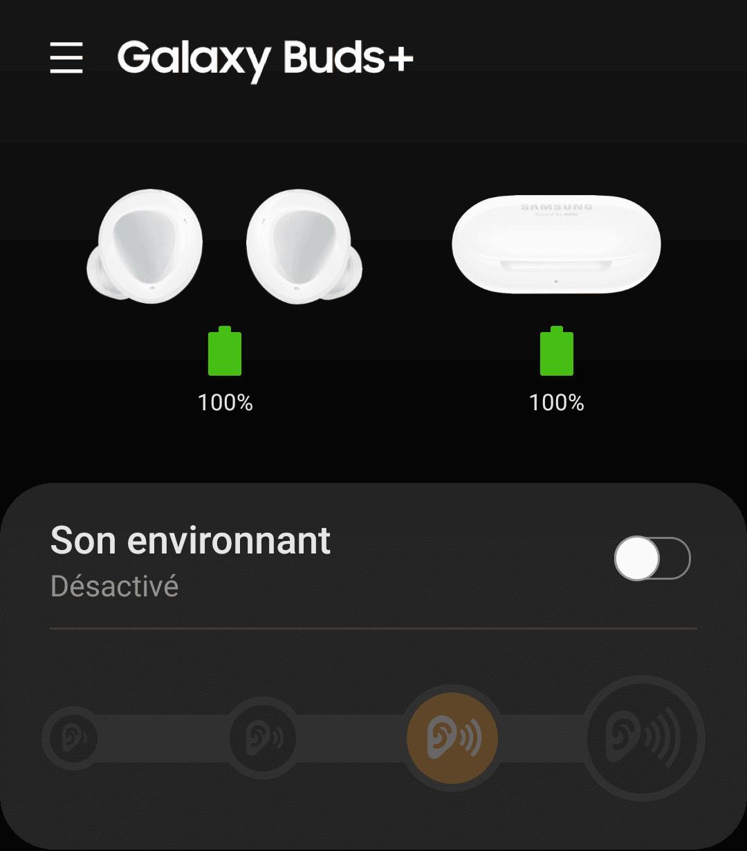 Galaxy Wearables Buds+ S20FE 5G