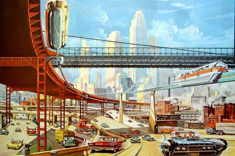 Vision du futur en 1950