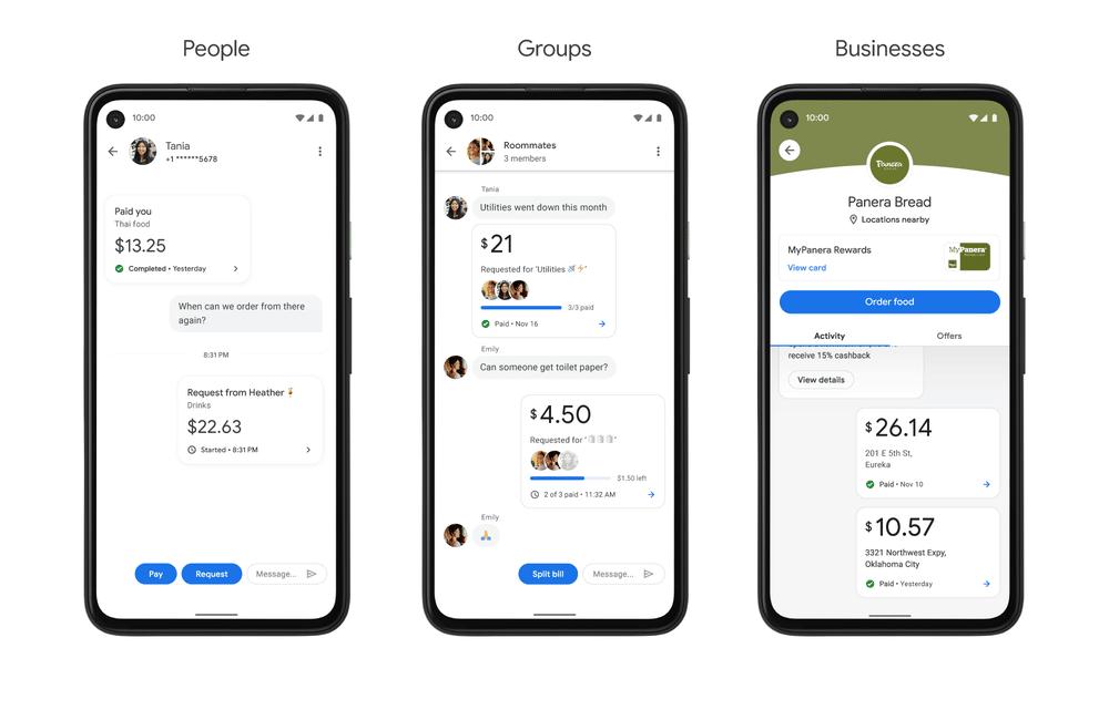Google Pay, Google Pay : une refonte totale de l'application