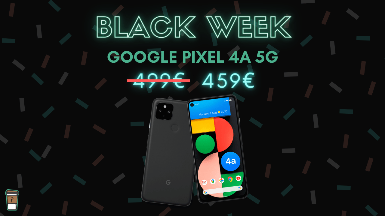 google-pixel-4a-5G-bon-plan-black-week