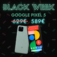 Pixel 5 : le dernier smartphone de Google à prix réduit – Black Week