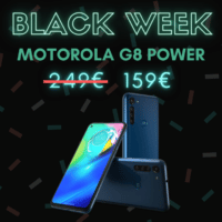 Le Motorola G8 Power affiche un prix de 159 € (-36%) – Black Week