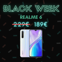 Realme 6, une réduction de 40€ – Black Week
