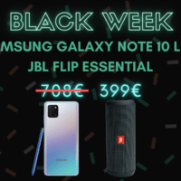 Le Samsung Galaxy Note 10 Lite est à 399 euros avec une enceinte JBL – Black Week
