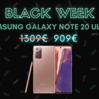 Samsung Galaxy Note 20 Ultra 5G : 320 euros de réduction – Black Week