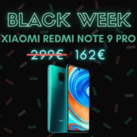 Redmi Note 9 Pro, sous la barre des 170€ – Black Week