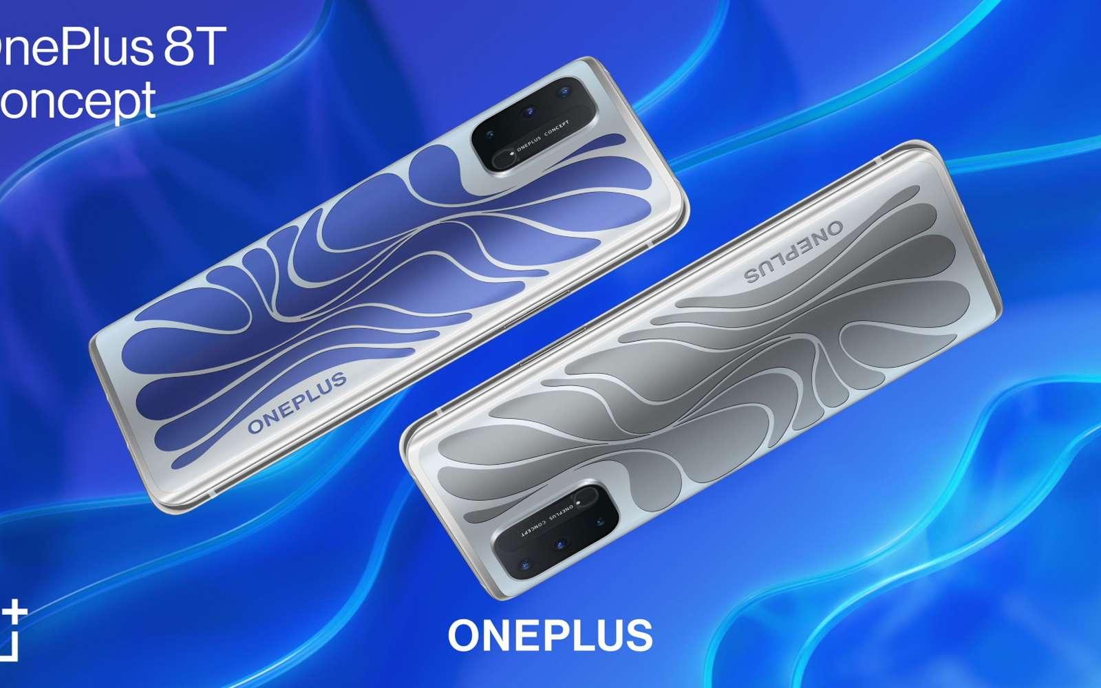 , OnePlus 8T Concept : un smartphone qui change de couleur en fonction des situations