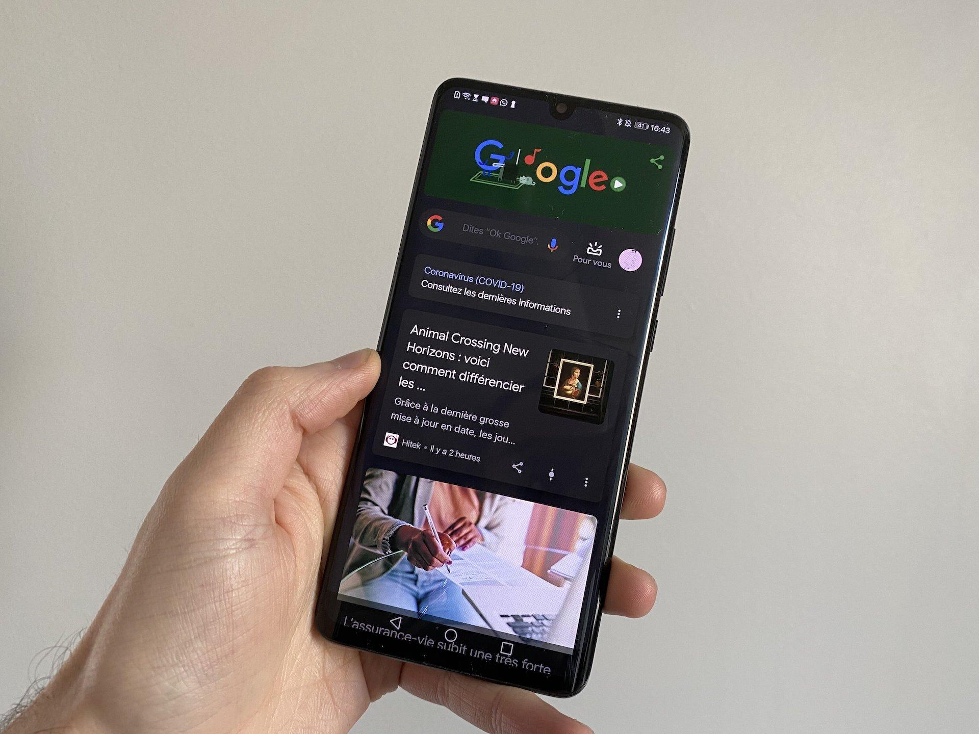 , Galaxy S21 : l'écran d'accueil intégrera Google Discover