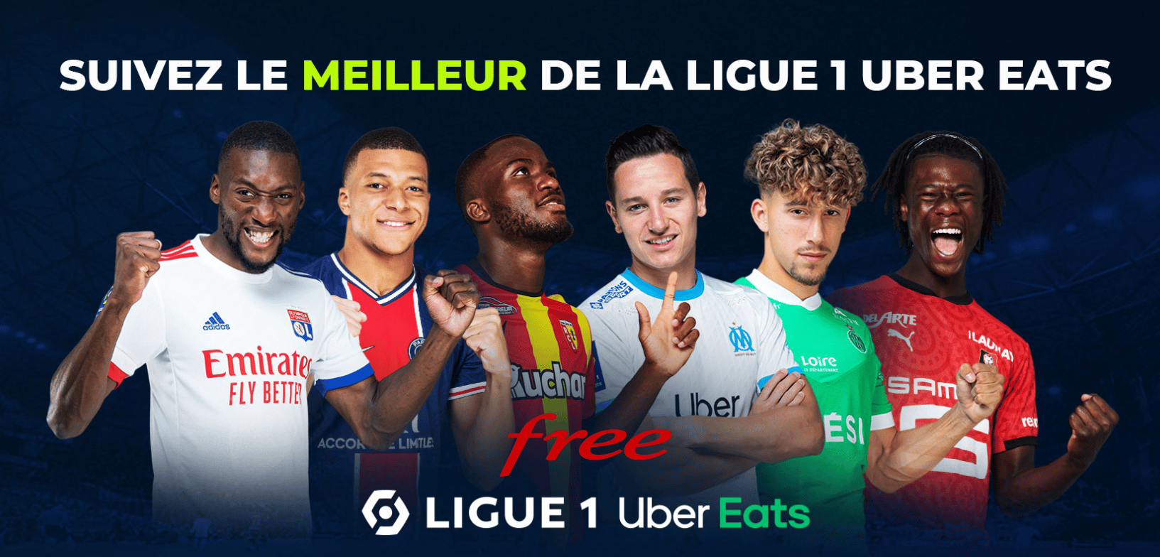 Ligue 1 Uber Eats, FOOT – Comment suivre la Ligue 1 Uber Eats gratuitement ?