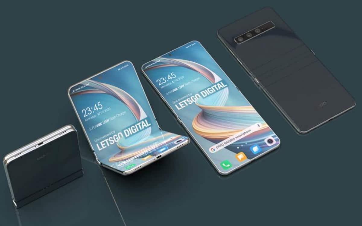 , Oppo travaille sur un smartphone pliable à clapet similaire au Galaxy Z Flip