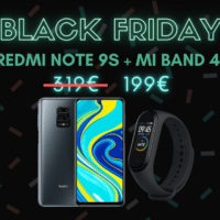 199€ pour le combo Redmi Note 9S + Xiaomi Mi Band 4 – Black Friday