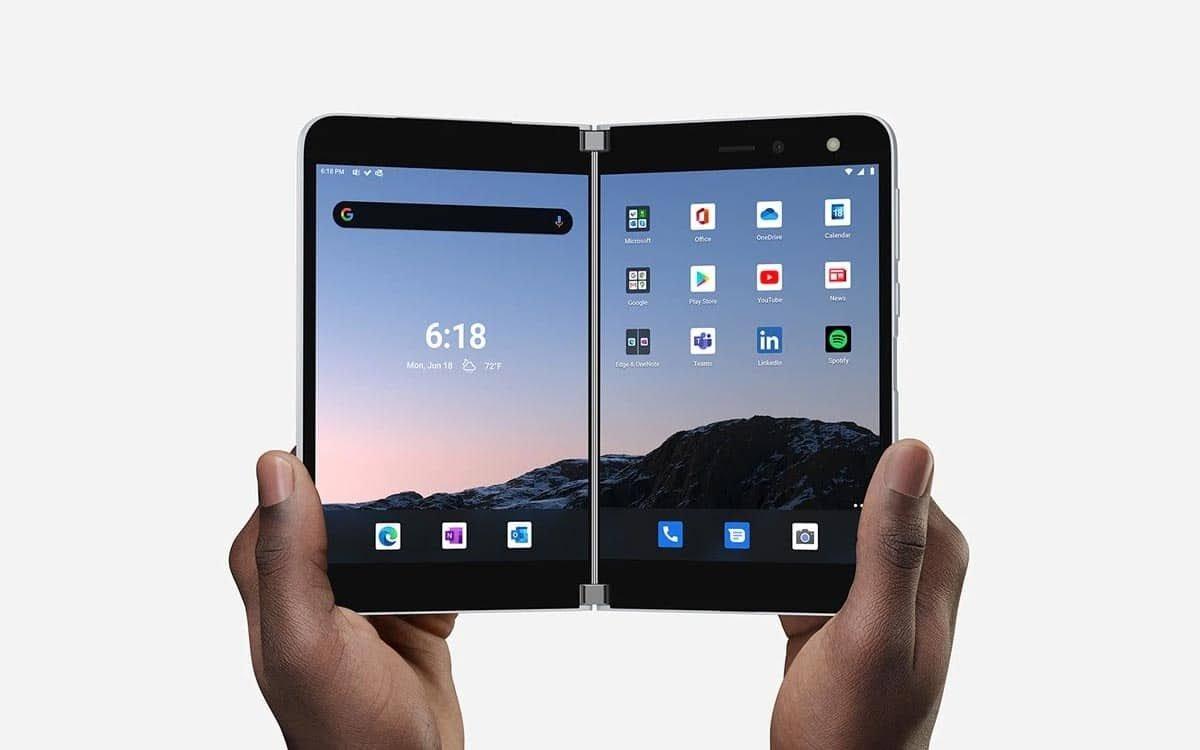 , Surface Duo : le smartphone à deux écrans pourrait arriver en février 2021