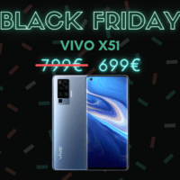 Vivo X51, 100€ de réduction – Black Friday
