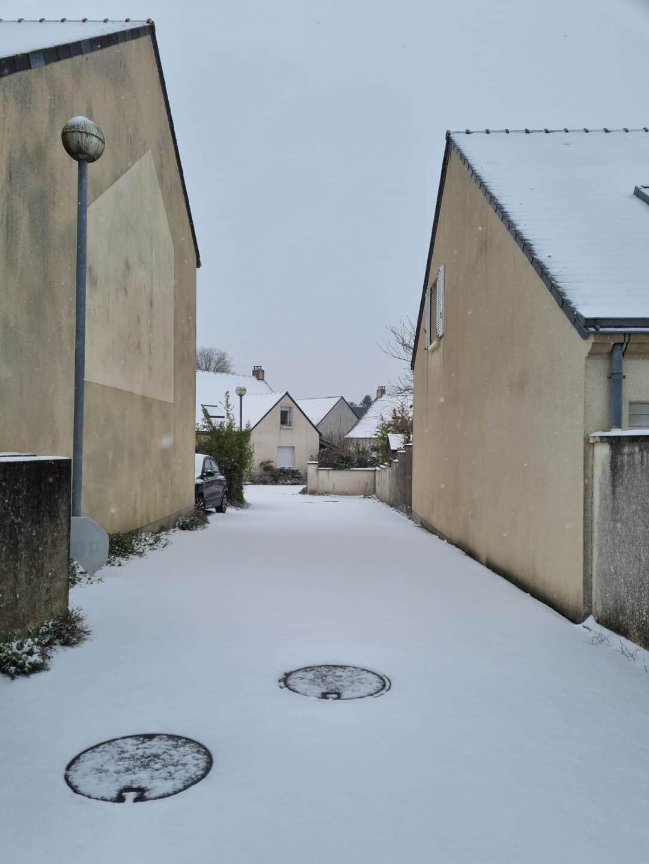 S21 Plus sous la neige