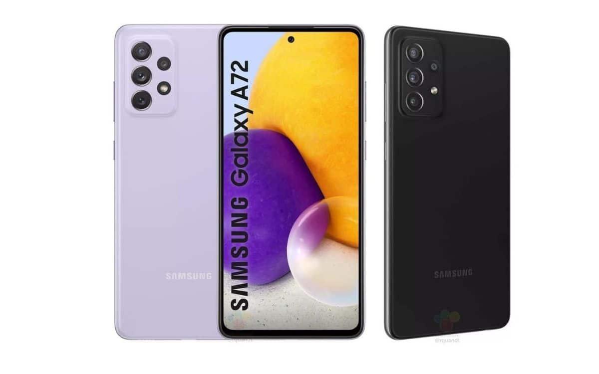 Galaxy A72, Galaxy A72, le smartphone se concrétise