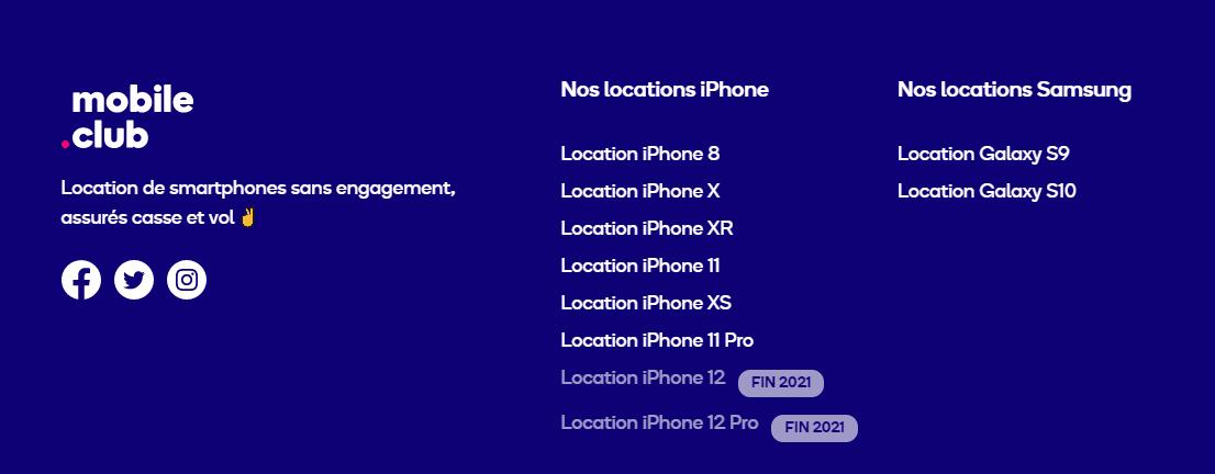 iphone mobile club