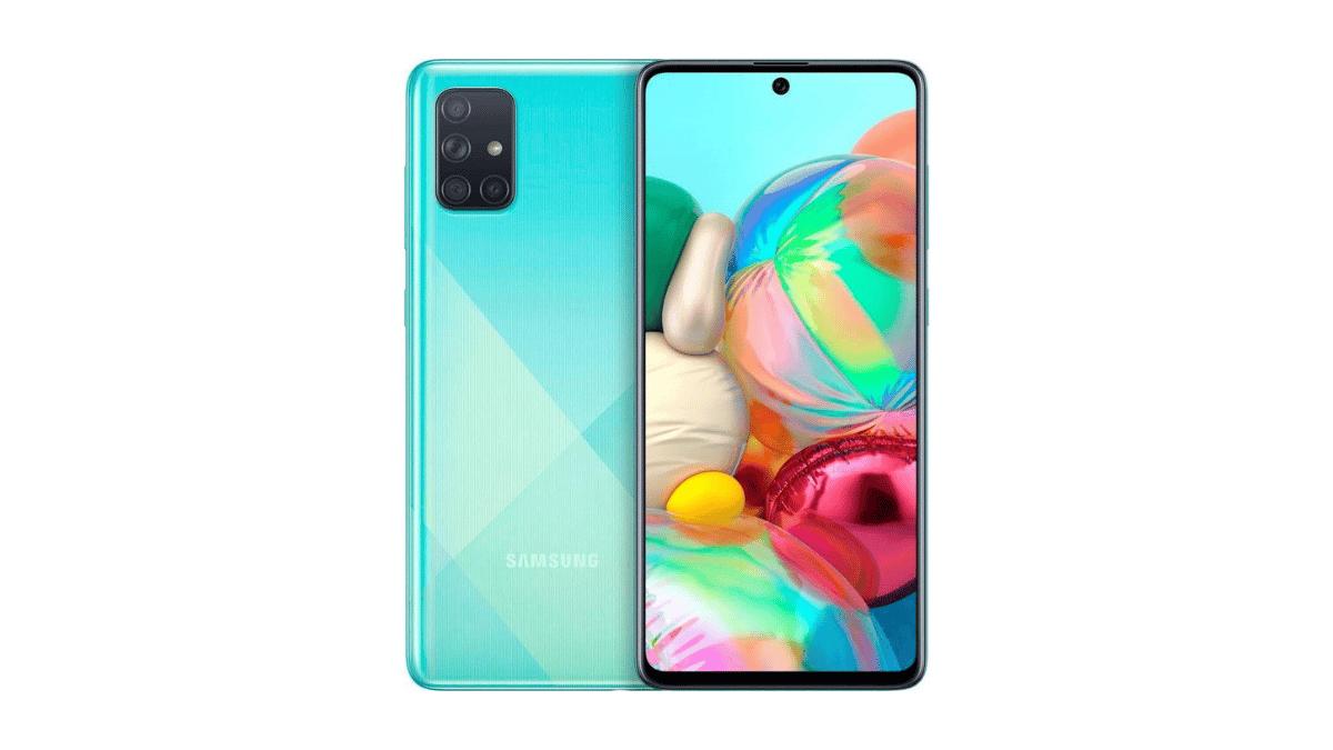 Galaxy A72 A72 smartphones milieux de gamme samsung