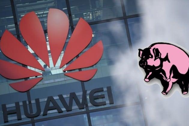 , Huawei ses ventes s'effondrent : l'élevage des porcs et le charbon comme solution