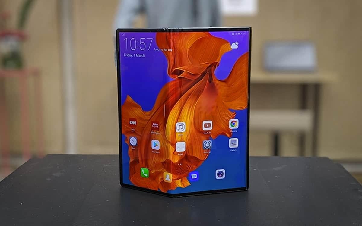 , Mate X2 : Huawei lancerait un smartphone pliable en février