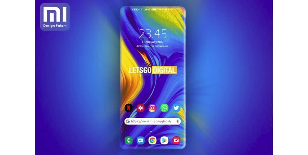 , Xiaomi dévoile un smartphone avec un écran aux 4 côtés incurvés !