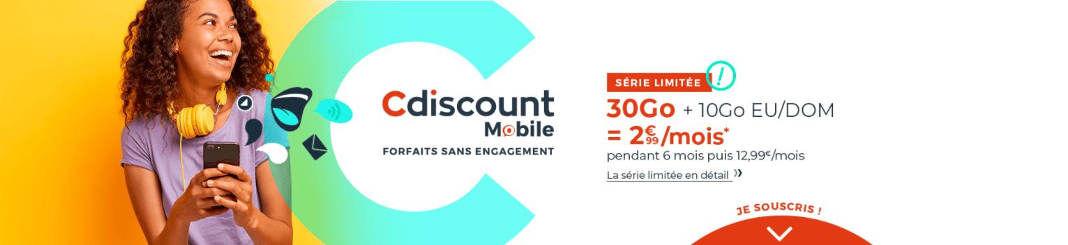 forfait mobile, Forfait mobile : la meilleure offre à 3 euros est de nouveau disponible