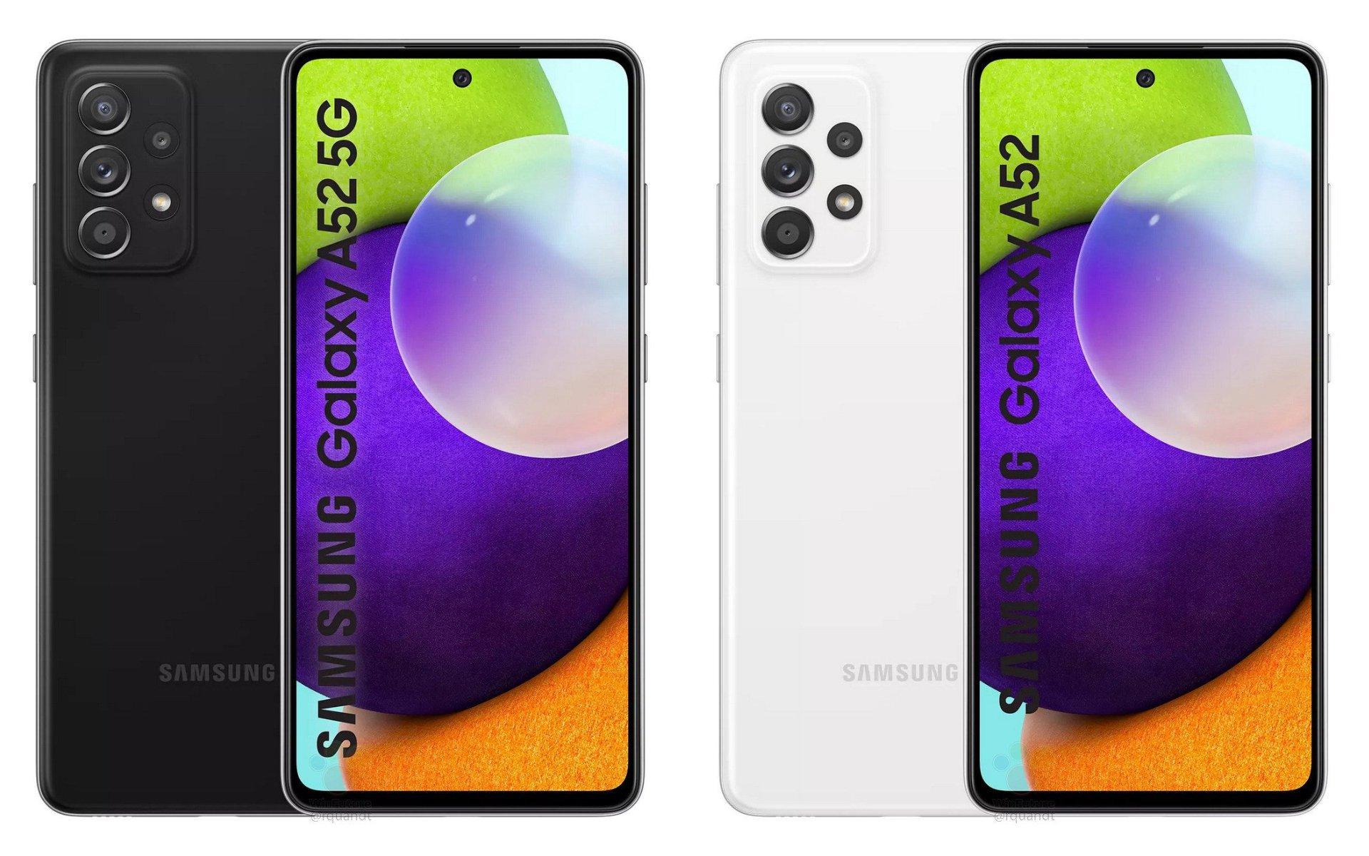 galaxy-A52-samsung-smartphone