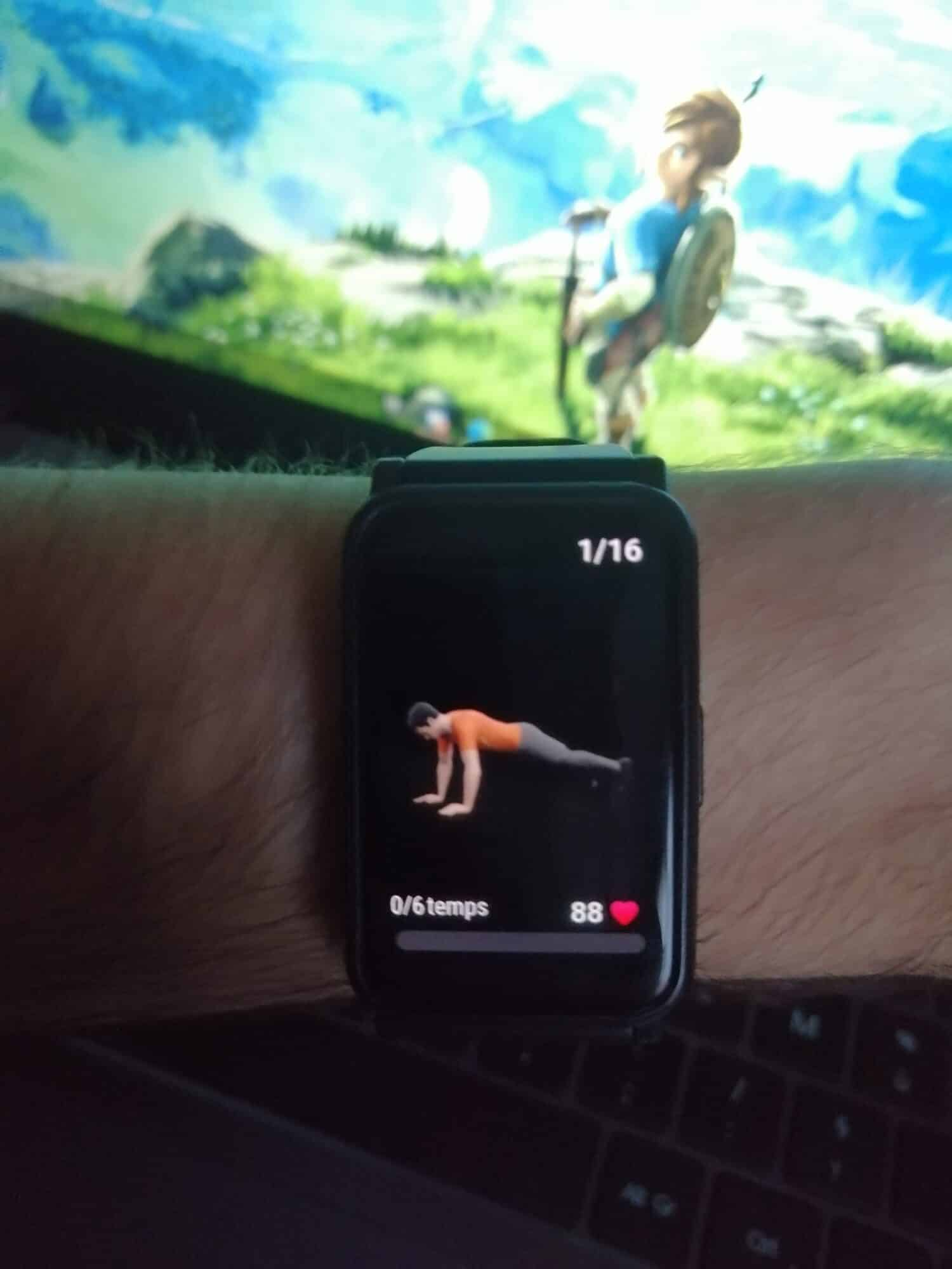Honor Watch ES sport assistant virtuel étirements santé entraînements