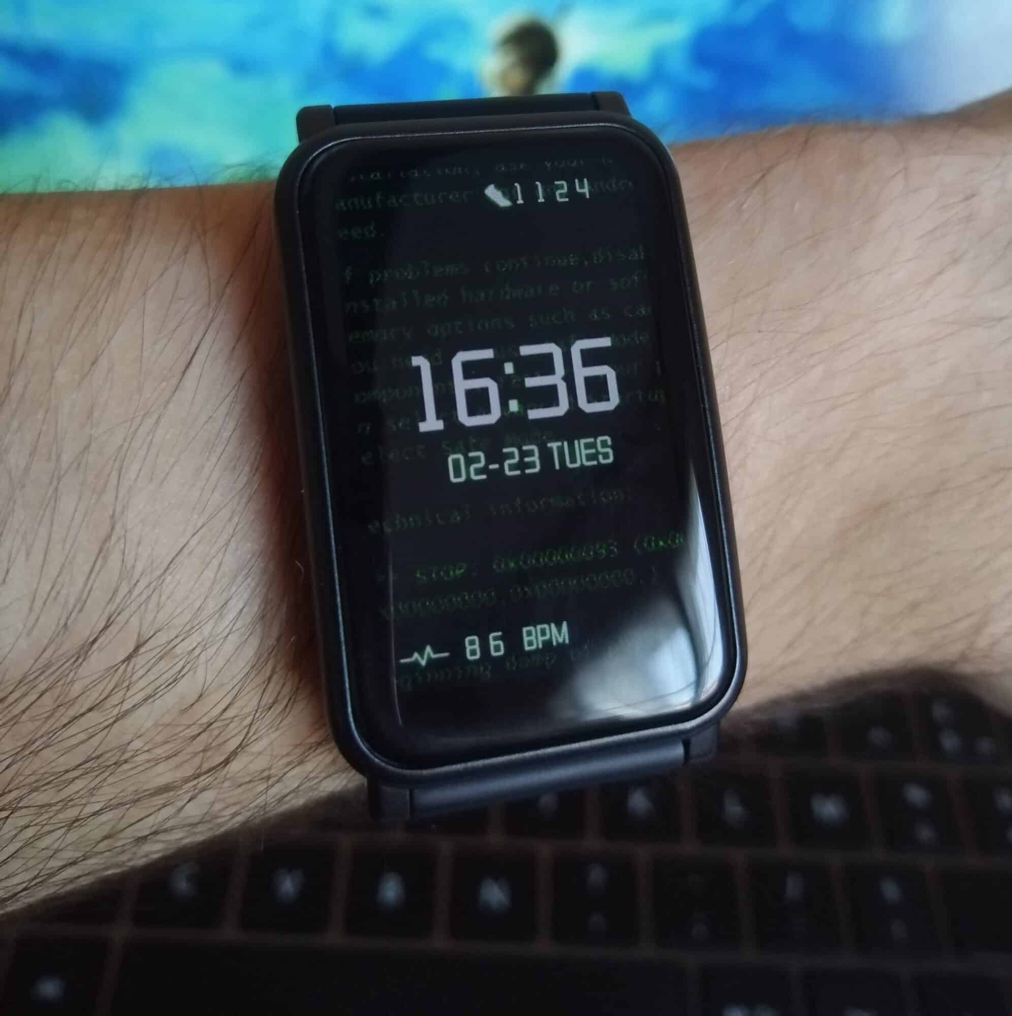 Honor Watch ES Huawei design écran thème AMOLED