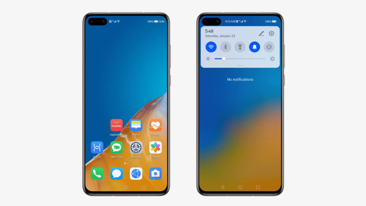 huawei harmonyos copie android