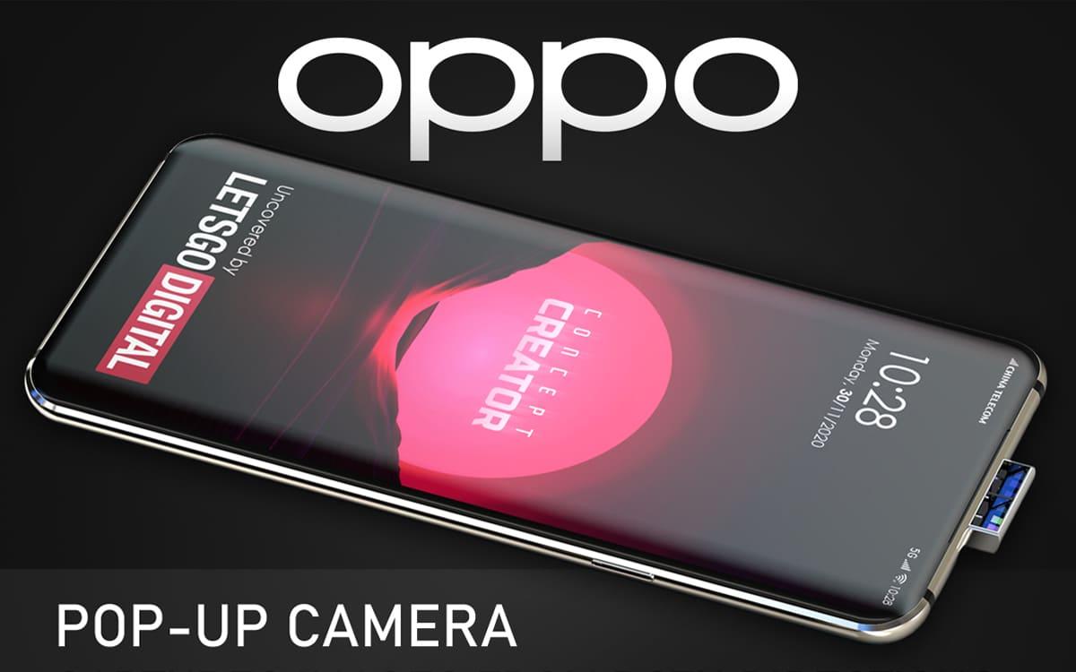 , OPPO veut cacher la caméra avant et la caméra arrière en même temps