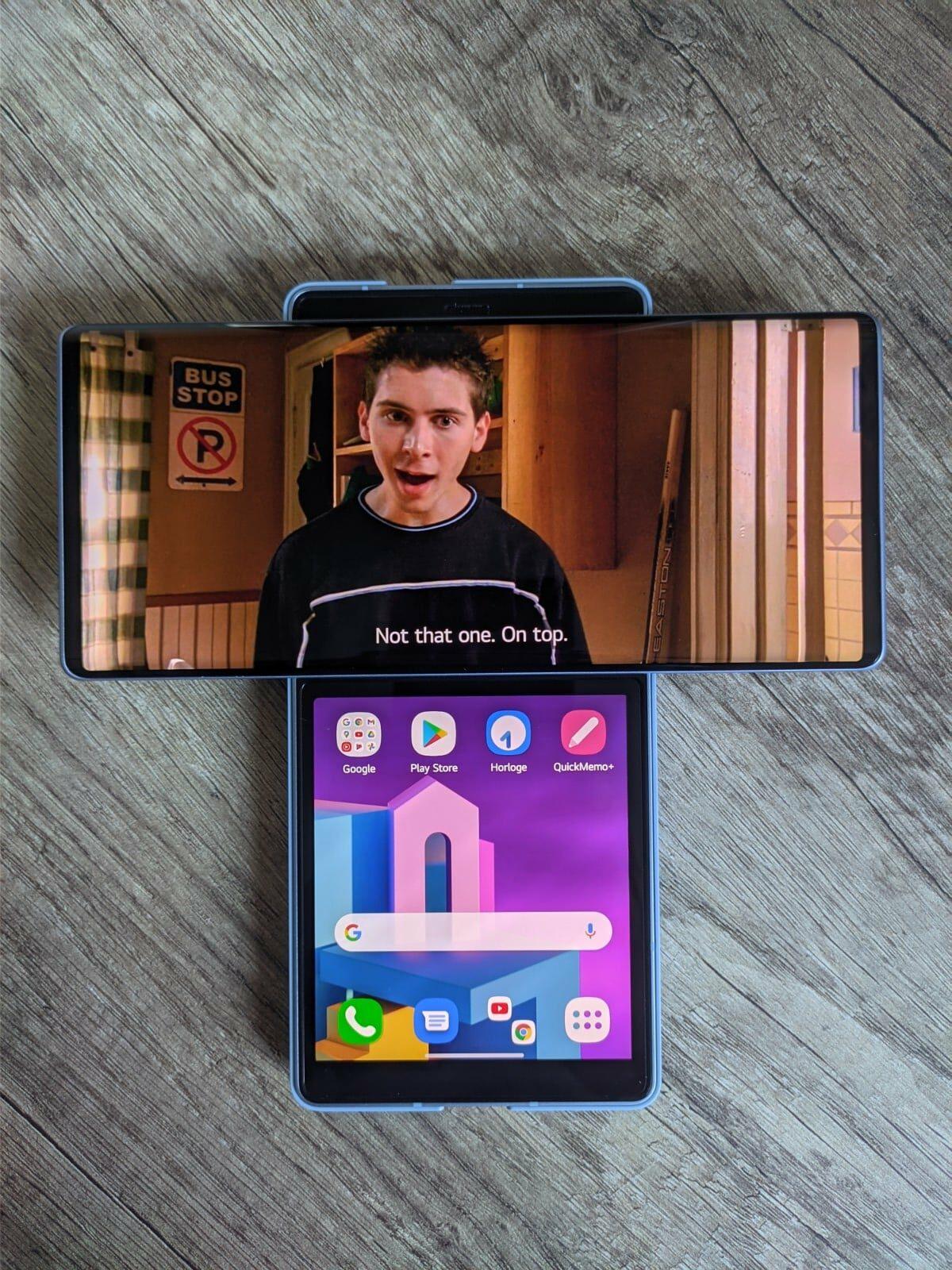 lg wing, Test – LG Wing : le smartphone mi-figue mi-raisin