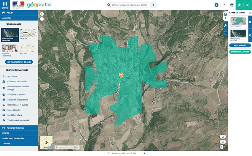 confinement, Confinement : calculer le rayon de 10 km autour de son domicile sur smartphone Android