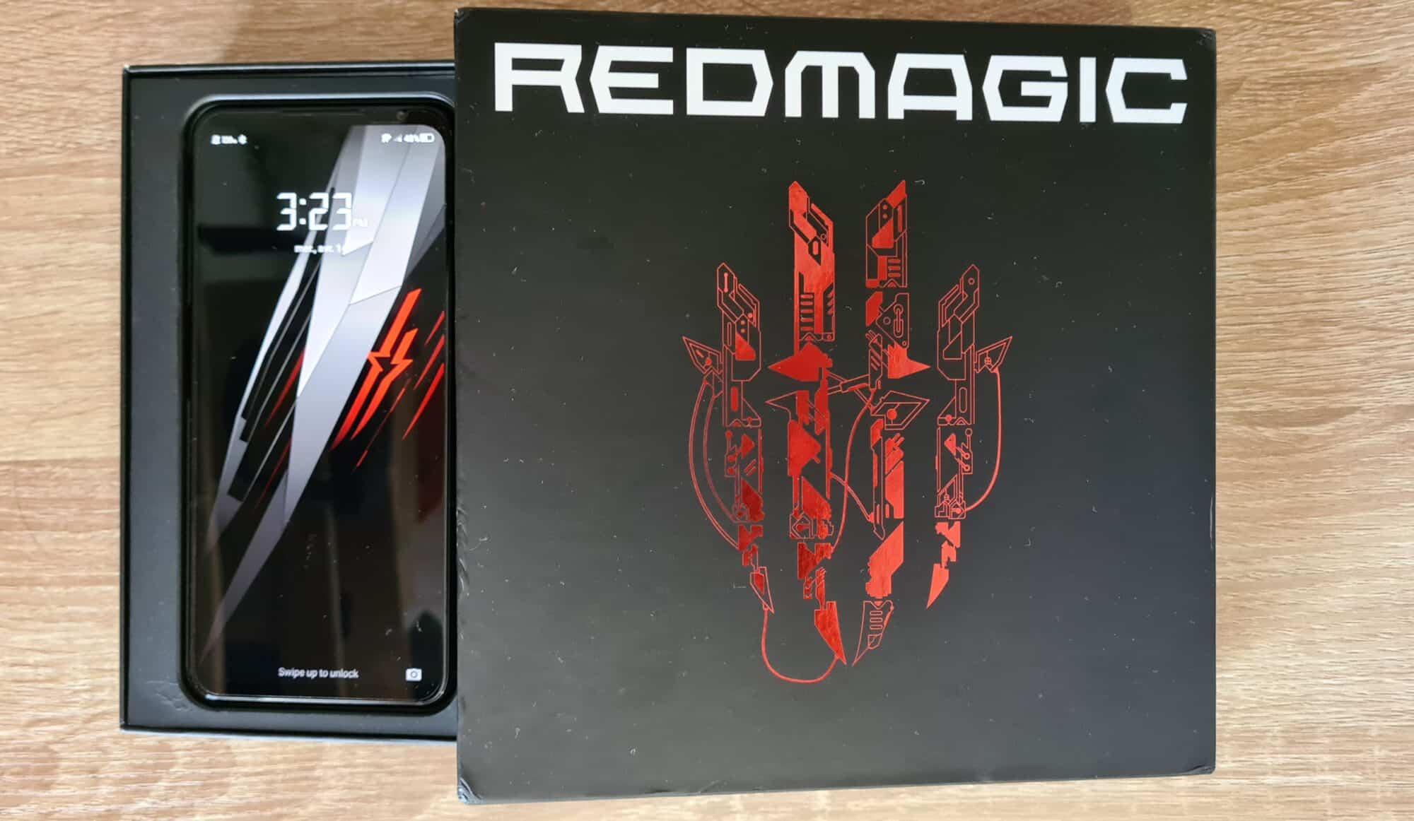 Premier unboxing du Redmagic 6