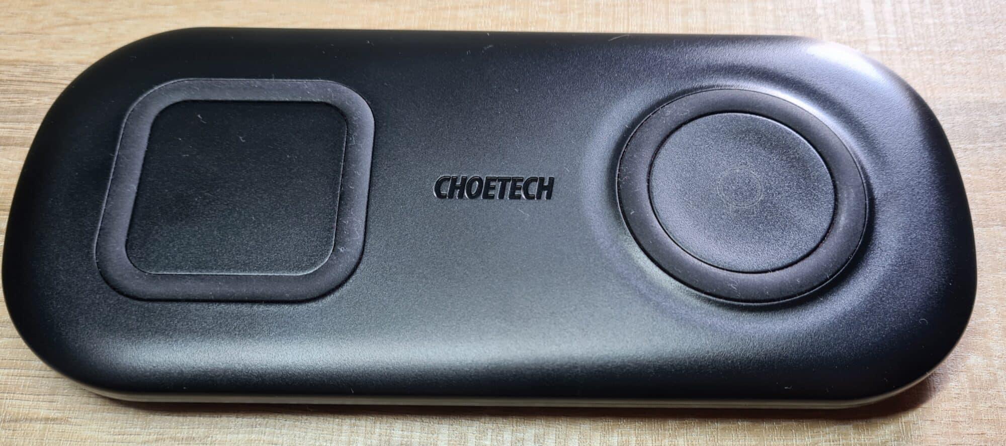 Chargeur sans-fil Choetech 2en1