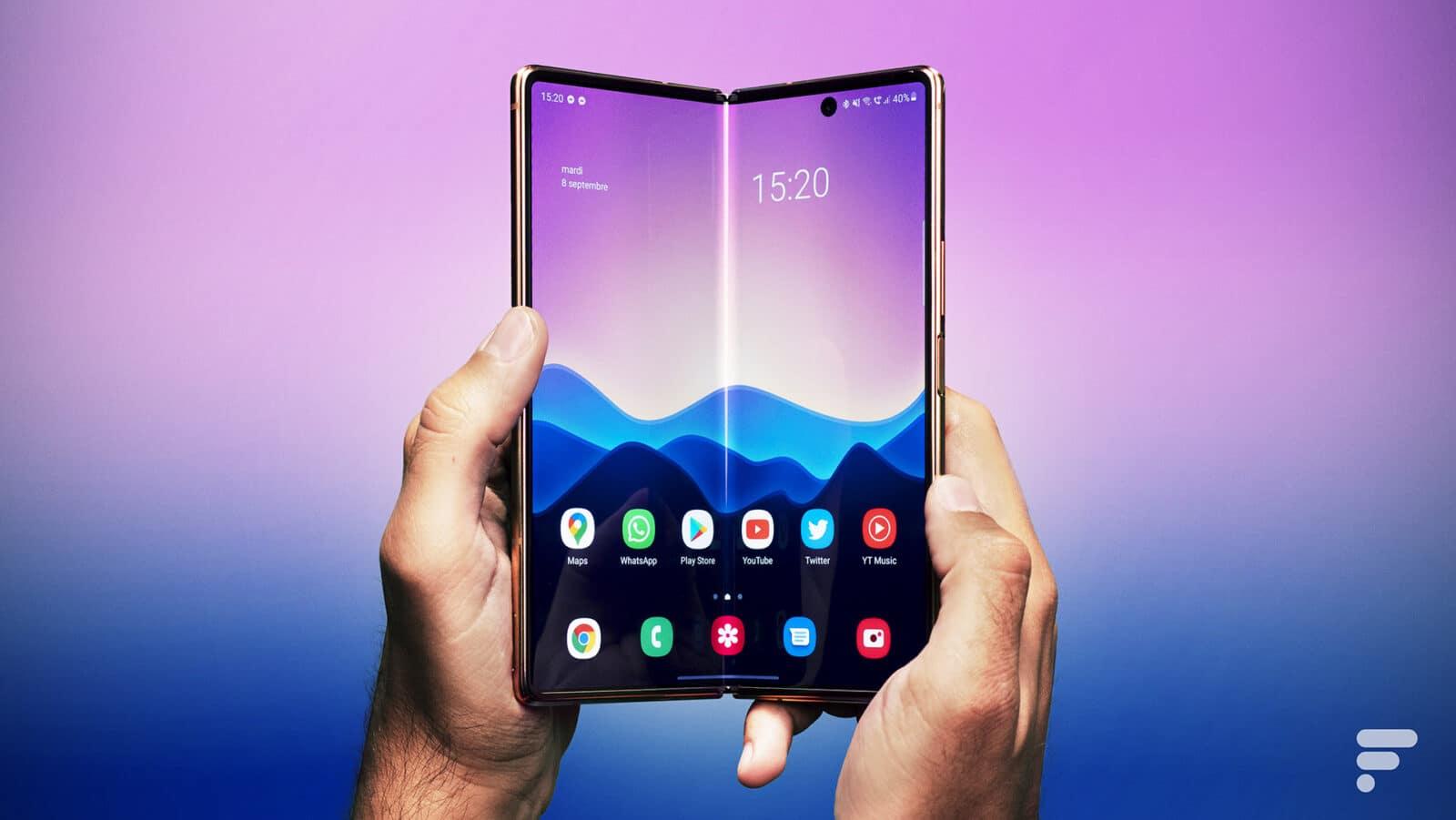 , Galaxy Z Fold 3 – Le problème des smartphones pliables résolu