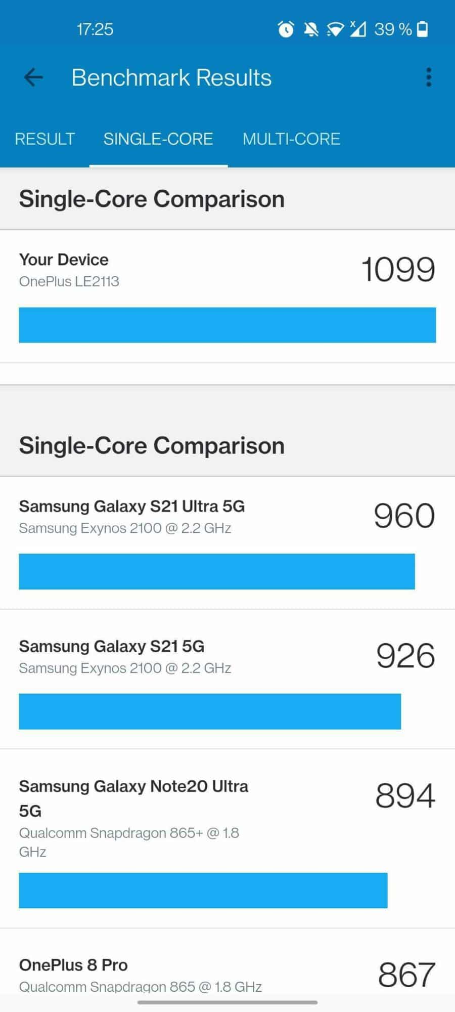 OnePlus 9, TEST – OnePlus 9, peu d'innovation à part le nom: 8+1=9?