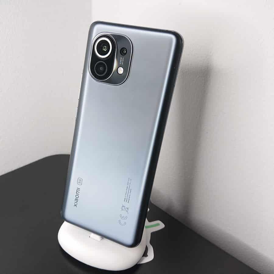 la face arrière du Xiaomi Mi 11