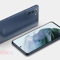 Samsung Galaxy S21 FE : de premiers visuels font surface