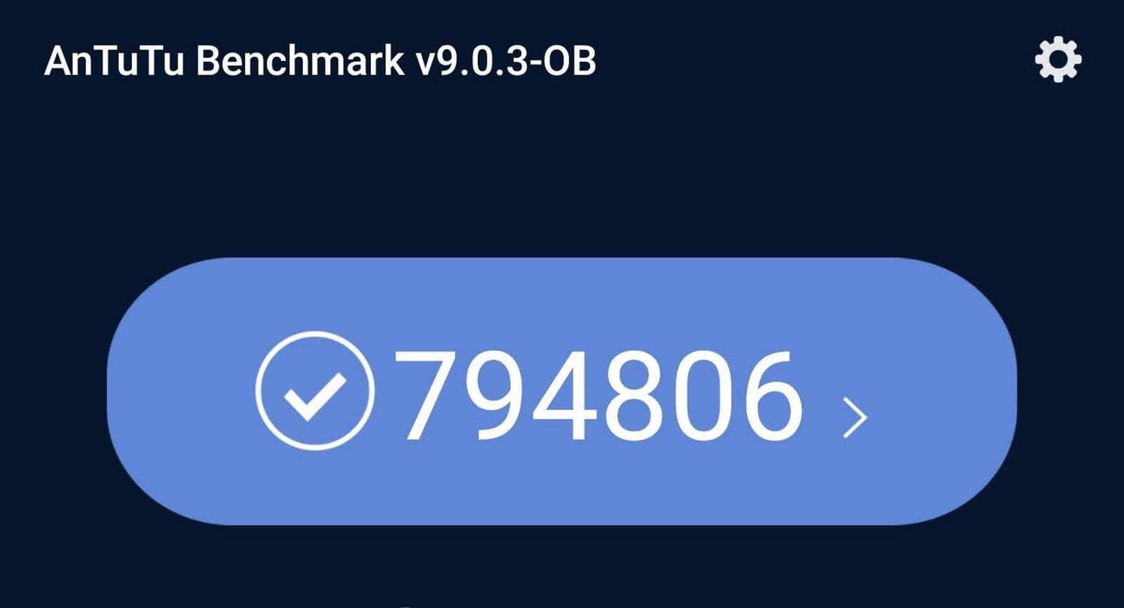 le score AnTuTu du Xiaomi Mi 11