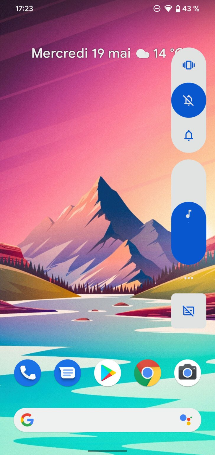 , Android 12 : Google affuterait une nouvelle présentation de la barre de volume
