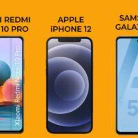 Top 3 des derniers smartphones les plus populaires en Avril 2021