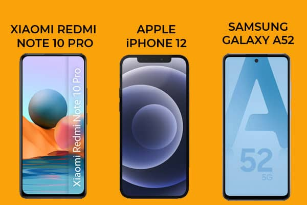 , Top 3 des derniers smartphones les plus populaires en Avril 2021